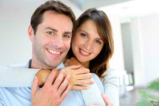 woman and man after botox